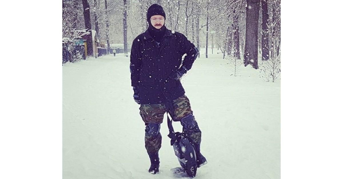 Моноколесо та сніг